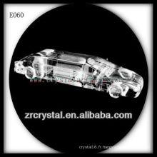 Modèle de trafic de cristal délicat E060