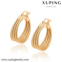 91554 venda Quente novo design senhoras jóias multi-círculo em forma de brincos de argola jóias estilo indiano