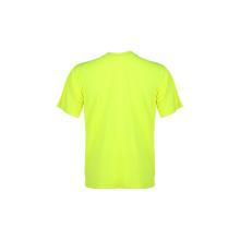 T-shirt de segurança reflexiva 100% poliéster