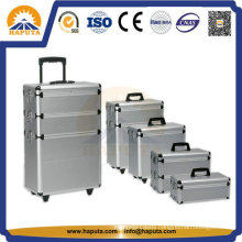 4 in 1 Professional Rolling Cosmetic Makeup Train Case