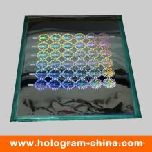 Maître holographique de sécurité laser 2D / 3D