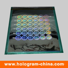 Mestre Holográfico de Segurança a Laser 2D / 3D