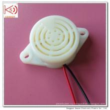 Белый Два уха 12В 24В Сигнализация Механический зуммер