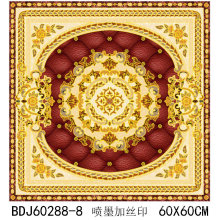 Produzent von Porzellan Boden Teppich Fliesen 800X800 in Foshan (BDJ60288-8)