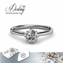 Destino joyería cristal de Swarovski anillo simplemente genial