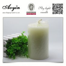 scented pillar candle on sale