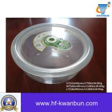 Боросиликатная стеклянная коробка с пластиковой крышкой Kb-Jh06095