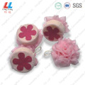 Flower Bath Sponge Ball Appliance