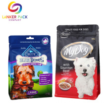 Kapasitas Besar Ritsleting Plastik Pet Food Bag