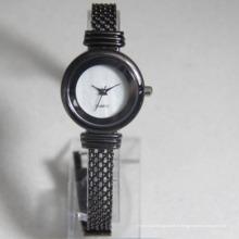 Montre imperméable de boucle d'OEM de dame de mode de luxe pour la montre de dame