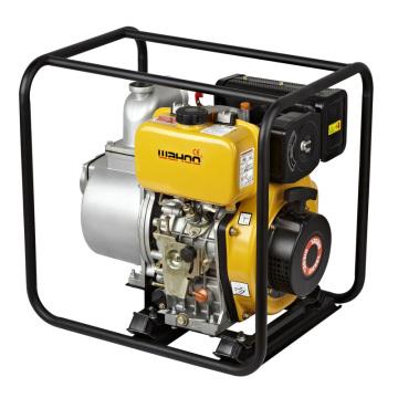 Agrandissement agricole centrifuge 4 '' Pompe à eau diesel avec 406cc Nouveau moteur