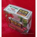 caixa de impressão de plástico para frutas (PVC314)