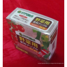 Caja de la impresión plástica para la fruta (PVC314)