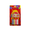 Borong Spiral Happy Birthday Cake Stick Lilin