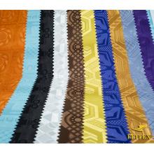 África Tejido de poliéster Bazin Riche Tejido Materia 100 Suficiente viscosa Precio por metro l Para hombre Camiseta Shirting Suit Bag Sto