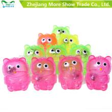 Nouveau jouet coloré ourson yoyo jouets illuminer balle