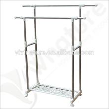 Wäsche-Trockengestell der hohen Qualität mit 4 Wheels \ Floor Anhebendem Rost-Proof-Trockengestell \ Balkon-hängender Kleidung-Trockengestell