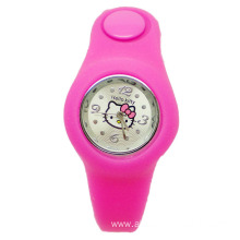 New Fashion Children Cartoon Silicone Wrist Watch