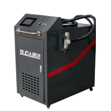 Hot sale SUDA SD 1000w 1500w thin metal welding portable laser welder with raycus laser source