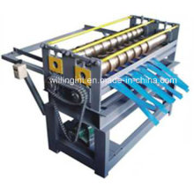 Máquina de corte de bobina de acero simple de alta calidad