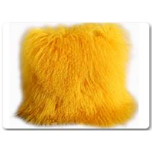 Schlafenmongolische Lamm-Pelz-Kissen-Kästen