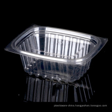 High Quality Cheap Disposable Clear Plastic Salad Bowl with Lid