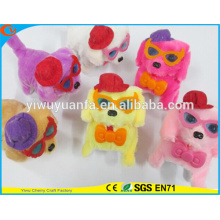 Hot Item Cute Design High Quality Colorful Plush Puppies Doll Toy