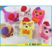 Горячие Пункт Милый Дизайн Высокое Качество Красочные Плюшевые Щенки Игрушки Куклы