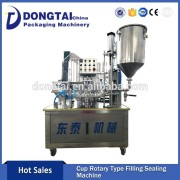 Cup Filling Sealing Plastic Container Sealing Machine