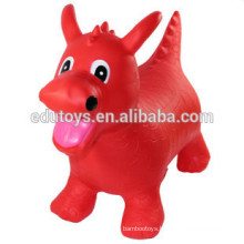2015 New Hot Design PVC Animal Toy Inflatable Jumping Animal Toy