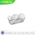 Spectrum Flower Bread Basket in Chrome