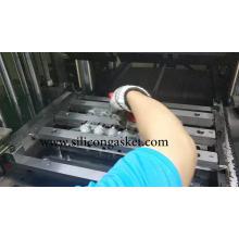 Garra de sucção a vácuo de borracha de silicone de robô industrial