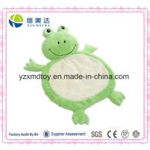 Animal de água personalizado Plush Frog Baby Plush Mat