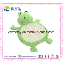 Пользовательские воды животных Плюшевые лягушки Детские плюшевые мат