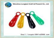 Mini Short PP plastic shoe horn / shoe accessory for old ma