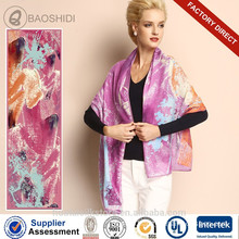 2015 fashion 100 pure wool scarf latest design shawl