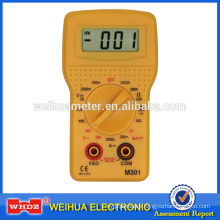 Pupular small Multimeter M301 with Battery Test