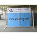 Valla temporal con hormigón o pies de metal / valla temporal para el mercado del Reino Unido / valla de malla de alambre temporal