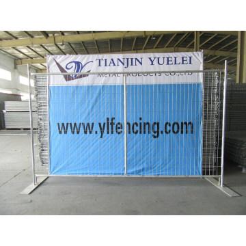 China Lieferant verzinkter temporärer Zaun / temporäre Fechten / Wirtschaft vorübergehende Zäune für Verkauf