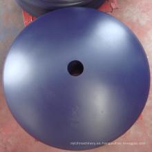 Hojas de arado de disco redondas / planas de 660x6 mm