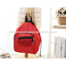 Promotional Reusable Polyester durable deluxe insulated collapsible shopping bag