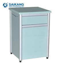 Cabinet de chevet de stockage d'hôpital de cadre en aluminium utile de SKS009