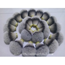 High Density Silvertip Badger Hair Knot