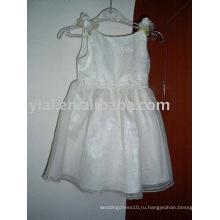 Пользовательские Оптовая платье девушки цветка AN1242