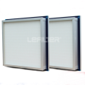 Hepa Filter Aluminium Frame Panel Filter