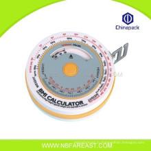 Дешевые 1M 2M 3M пользовательских новый пластиковый круглый рулетка