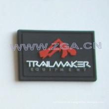 Weicher PVC-Patch, Gummi-Etikett, Kleidungsstück Etikett,