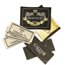 Cheap Fabric Cloth Tag Damask Woven Clothing Custom Labels