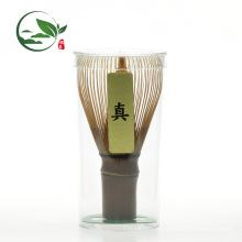 Em estoque Feitas à mão 80 dentes Purple Bamboo Matcha Chasen Whisk
