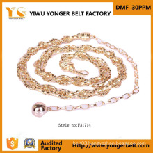 Fashion Lady Chain Waist Belt with Strap for Garments